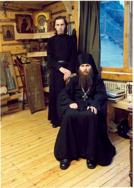 65 о. Зинон в псково-Печерском монастыре.