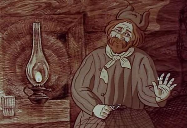 """Кадр из мультфильма """"Смех и горе у Бела моря"""""""