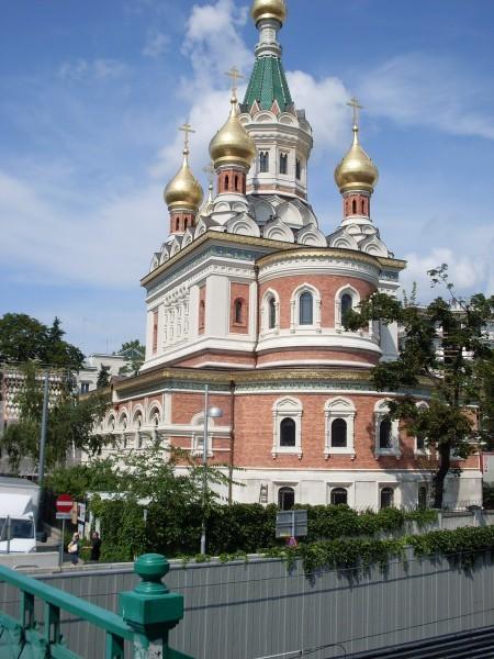 92 Вид Никольского собора в Вене