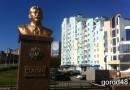 В Липецке установлен памятник Сталину