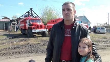 Житель Челябинской области спас ребенка из горящего дома