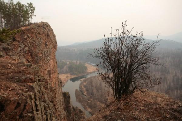 Мы проехали около 250 километров от Читы до города Шилки, и ни одной минуты не видели чистого неба над собой, только дым