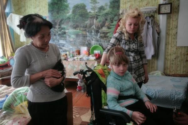 Ариадна Козырева, спасенная из огня Степаном