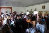 В Шахтерске, несмотря на боевые действия, открылся храм