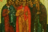 Церковь вспоминает девять святых мучеников Кизических