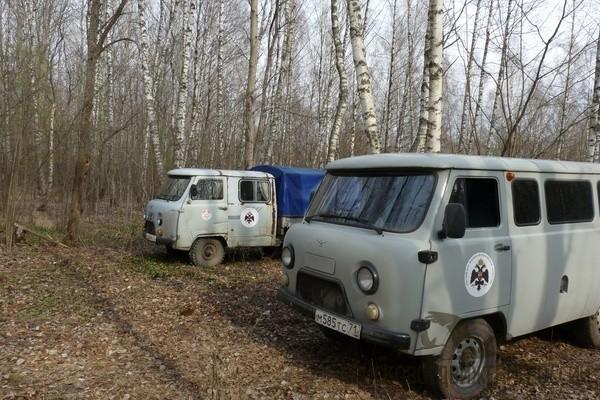 Поисковики обнаружили на заброшенном хуторе в Тульской области подвал с останками более 25 советских солдат
