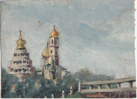 Рисунок Евгения. Новый Иерусалим.