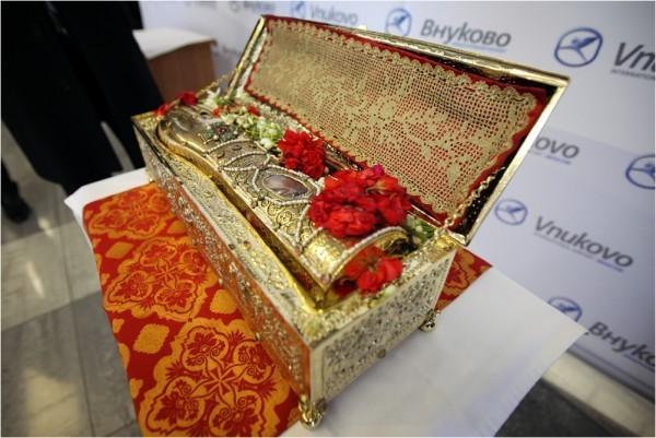 11 мая состоятся проводы Десницы святого великомученика Георгия Победоносца из Москвы