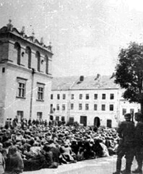 Облава на евреев в Минске
