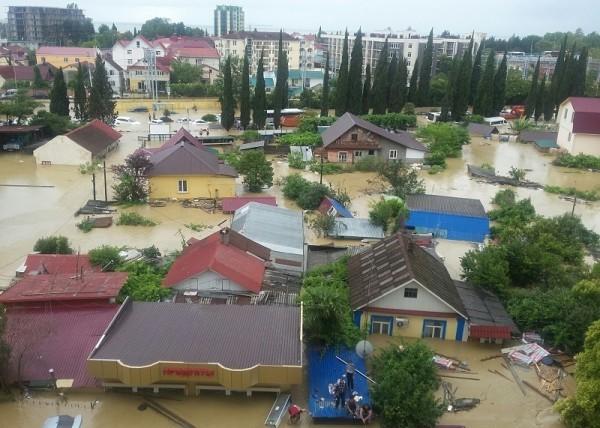 Церковь будет помогать пострадавшим от наводнения в Сочи