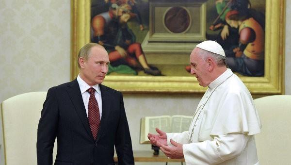 Владимир Путин и Папа Римский в Ватикане обсудят ситуацию на Украине