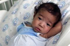 Спасенному малышу очень нужна семья!