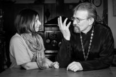Священник Сергий Круглов и журналист Ксения Лученко написали книгу для взрослых (+ВИДЕО)