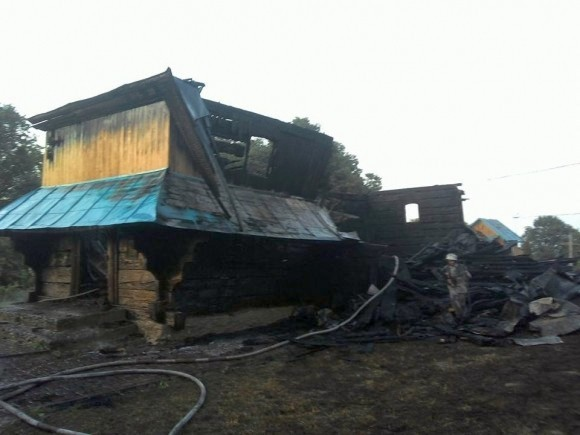В Львовской епархии сгорел 300-летний храм