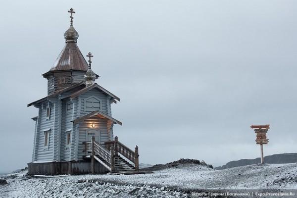 Церковь Святой Троицы в Антарктиде. Фото: ok.ru