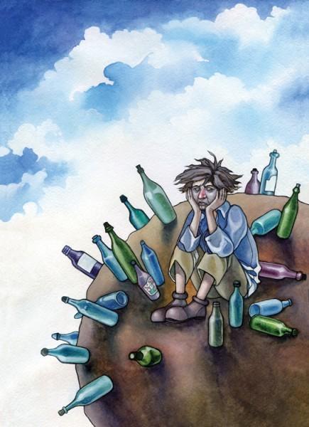 Планета Пьяницы. Рисунок Ольги Третьяковой
