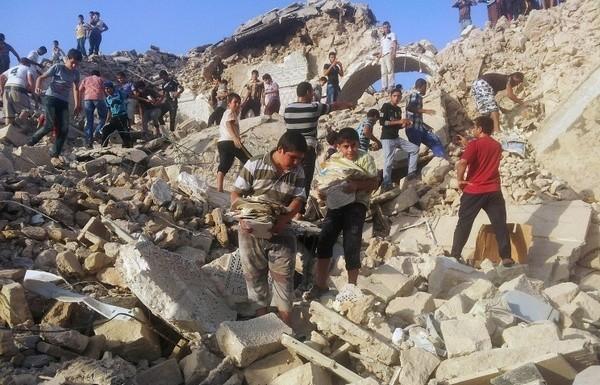 Боевики ИГ сровняли с землей могилу пророка Ионы в Мосуле