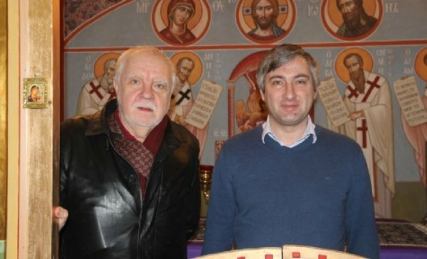 С Тимофеем Китнисом. Фото с сайта chashkin.hut4.ru