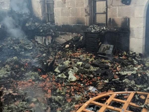 В Израиле сгорела церковь Умножения хлебов и рыб