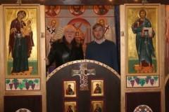 Трир: русские художники расписали алтарь в храме древнего немецкого города