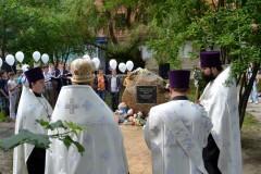В Горловке прошла панихида по детям, погибшим за время военного конфликта на Донбассе