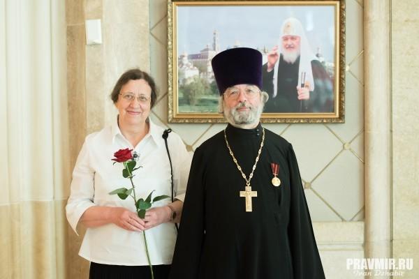 Протоиерей Александр Ильяшенко награжден медалью ордена святого равноапостольного князя Владимира