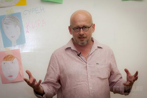 Валерий Панюшкин прочел открытую лекцию об инклюзивном обучении и общении особенных детей