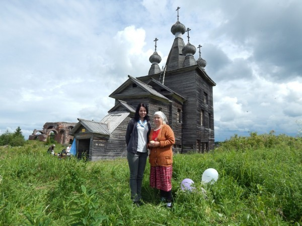 Сафинова Валентина Петровна с дочерью