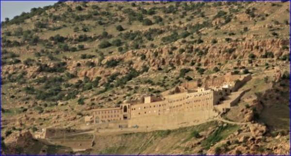 Один из древнейших монастырей мира под угрозой атаки ИГИЛ