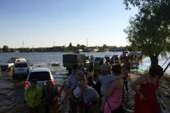 Церковь помогает пострадавшим от наводнения в Нижневартовске