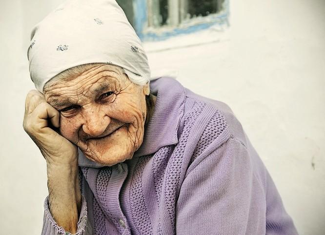 Когда моя бабушка улыбалась