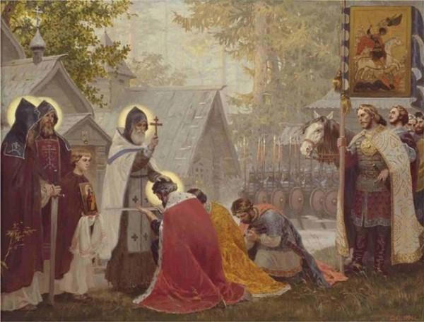 Церковь чтит память святого благоверного великого князя Димитрия Донского