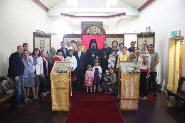На территории католического монастыря появился православный храм