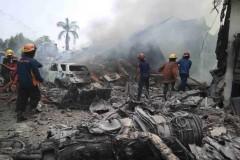 Число жертв авиакатастрофы в Индонезии превысило 100 человек