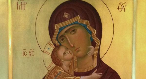 Церковь чтит память Владимирской иконы Божией Матери