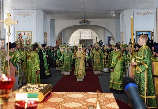 Патриарх Кирилл: По молитвам святого праведного отца Иоанна Кронштадтского я был исцелен