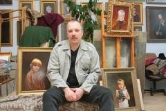 Как комсомолец в церкви работал, а потом портрет Патриарха писал
