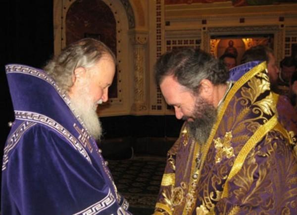 Со Святейшим Патриархом Московским и всея Руси Кириллом