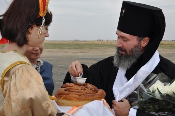 7 августа 2014 года, в Элисту прибыл новый правящий архиерей Элистинской и Калмыцкой епархии – архиепископ Юстиниан