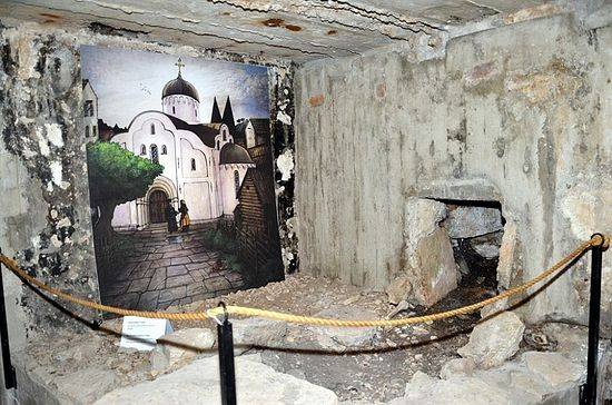 Руины православного храма выставлены на продажу в Швеции