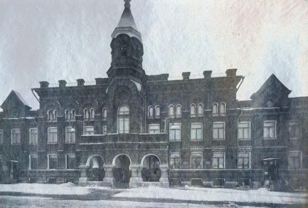 Западный фасад Епархиального дома