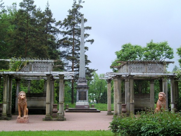 Кагульский обелиск в царском селе