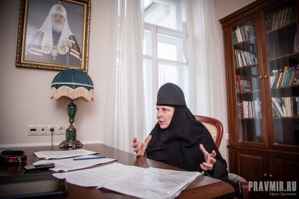Монахиня Елена (Кругляк). Фото: Ефим Эрихман