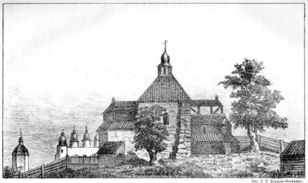 Церковь, построенная митрополитом Петром Могилою