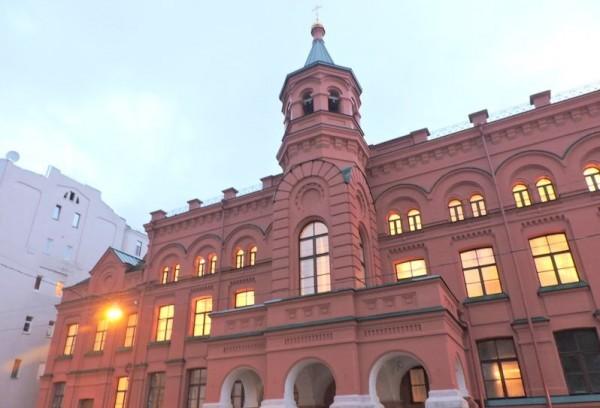 7 фактов о Московском епархиальном доме