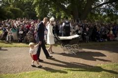Принцессу Шарлотту крестили в Великобритании (+Фото)