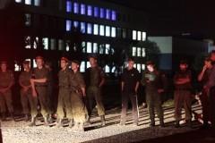 Священники Омской епархии вместе со специалистами МЧС и МВД поддерживают пострадавших при обрушении казармы