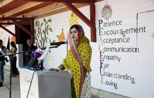 Лауреат Нобелевской премии мира организовала в Ливане школу для сирийских беженцев