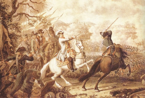 Д. Ходовецкий. Сражение при Кагуле 21 июля (1 августа) 1770 года.