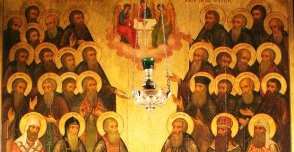 Церковь вспоминает Собор Радонежских святых
